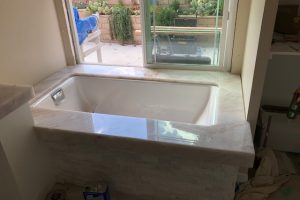 Cristallo Bathtub Installed