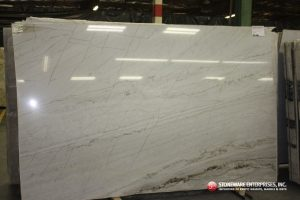 White Macuba or Calacatta 3cm Quartzite